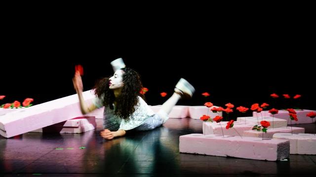 Bühne, Kostüm Katharina Grof (sie/ihr) (ABK Stuttgart), »Time to Shine«, Regie: Jule Bökamp, Mai 2021 (Premiere)