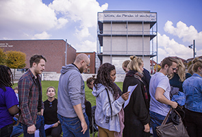 Akademie für Darstellende Kunst Baden-Württemberg - Studienjahr-Eröffnung mit dem Zentrum für politische Schönheit