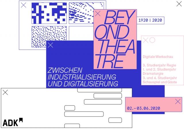 Programm Beyond Theatre