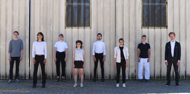 von links: Till Krüger, Marcel Gisdol, Sara Adina Scheer, Stella Hanheide, Jannik Süselbeck, Anna Maria Zeilhofer, Henning Mittwollen und Dominik Tippelt.
