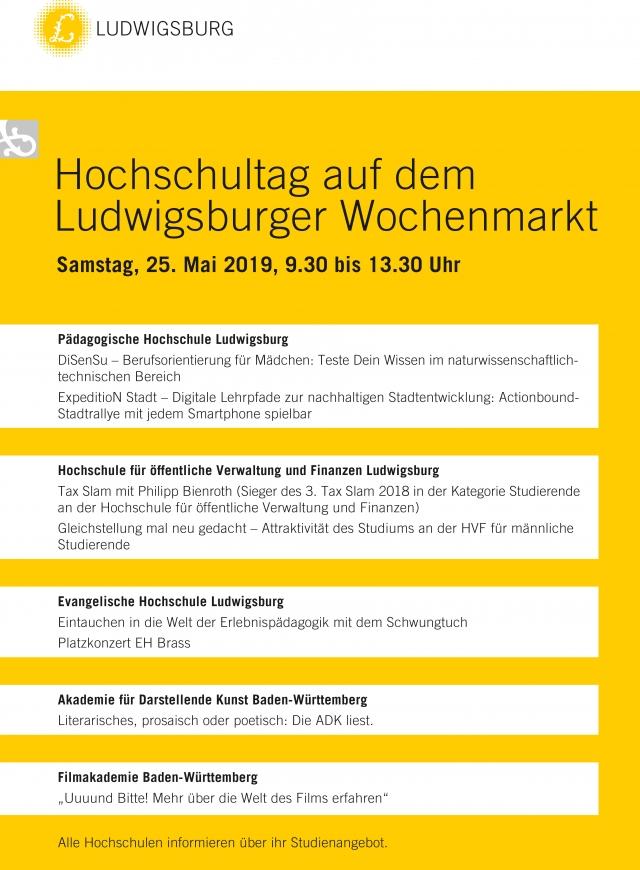 Akademie für Darstellende Kunst Baden-Württemberg - Präsentation Hochschulen Ludwigsburg