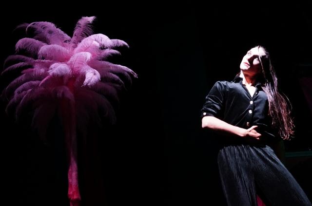 Marcel Gisdol in: »Yvonne, die Burgunderprinzessin« von Witold Gombrowicz Regie: Evy Schubert